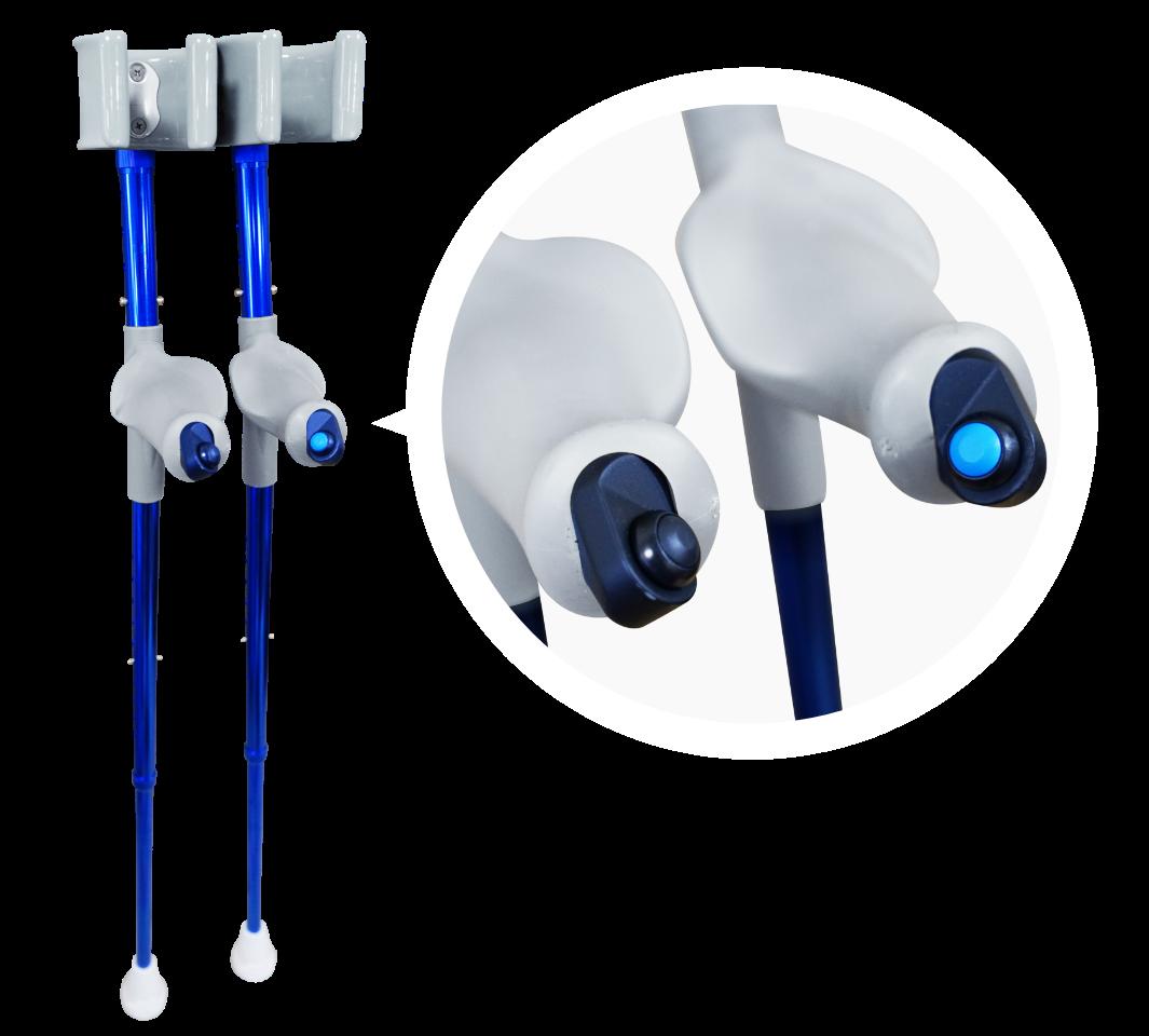 Bezprzewodowe kule do sterowania Egzoszkieletem Free Walk