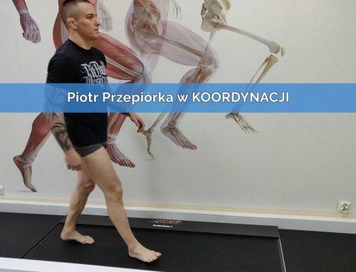 Piotr Przepiórka w KOORDYNACJI na badaniu stóp i postawy ciała – Wkładki ortopedyczne 3D