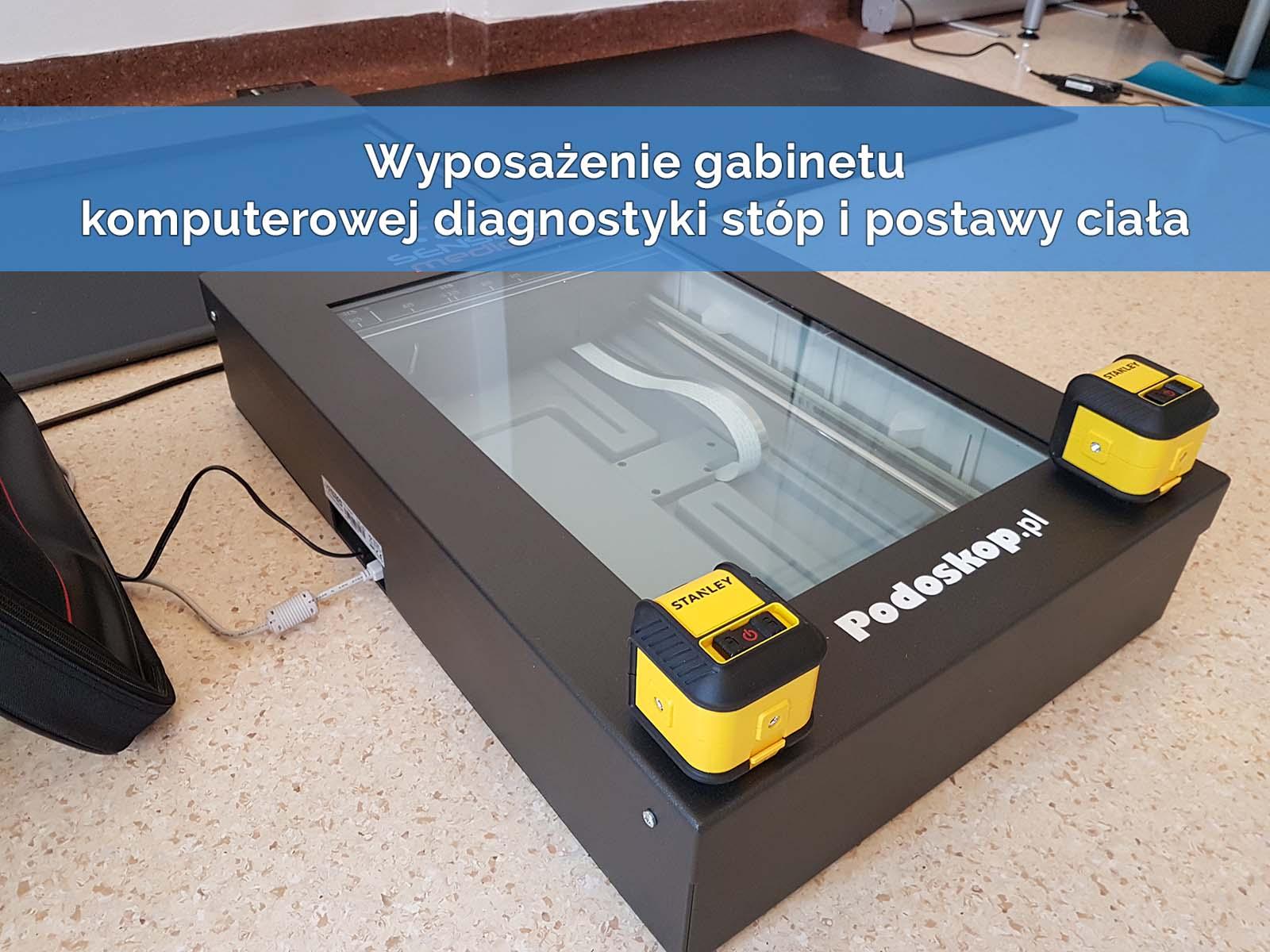 Wyposażenie gabinetu – Platforma FreeMED EXTREME 240 + Wkładki tensometryczne FlexInFeet