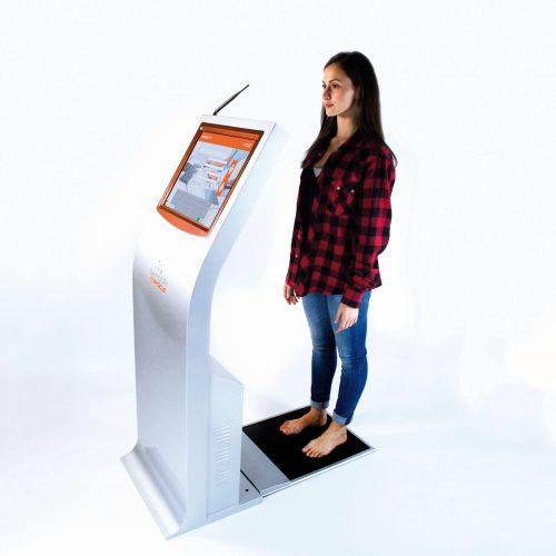 SensoFeet – kiosk diagnostyczny