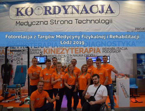 Fotorelacja z Targów Medycyny Fizykalnej i Rehabilitacji Łódź 2019
