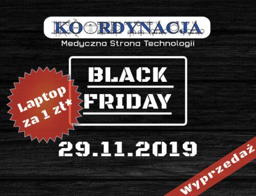 Laptop za 1 zł od KOORDYNACJI na Black Friday 2019